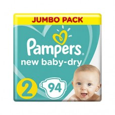 Pampers New Baby 2 Mini (4-8 кг) Jumbo Pack 94 шт
