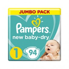 Pampers New Baby 1 Newborn (2-5 кг) 94 шт
