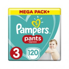 Pampers PANTS 3 Midi 6-11 кг (120 шт)