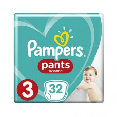Pampers PANTS 3 Midi 6-11 кг (32 шт)