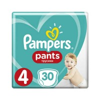 Pampers Pants 4 Maxi (9-15 кг) 30 шт