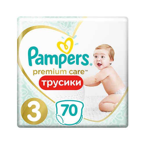 Pampers PANTS Premium Care 3 Midi 6-11 кг (70 шт)