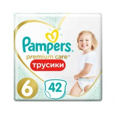 Pampers PANTS Premium Care 6 Extra large 15+ кг (42 шт)